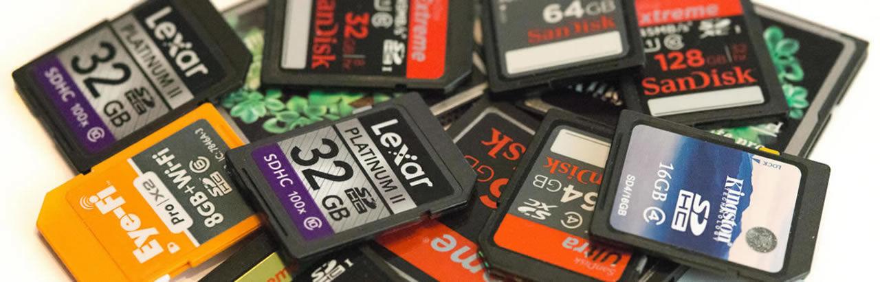 Recupero dati memory card sd cf