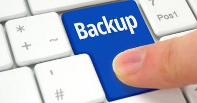 backup dei dati