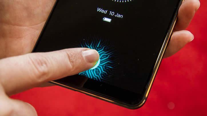 impronta digitale smartphone