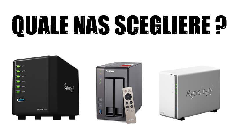 NAS - server di rete cloud